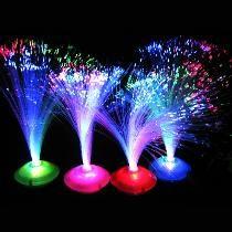 7cac47cc1c7 Centros De Mesa Fibra Optica Luz Led Arreglos Para Fiestas ...