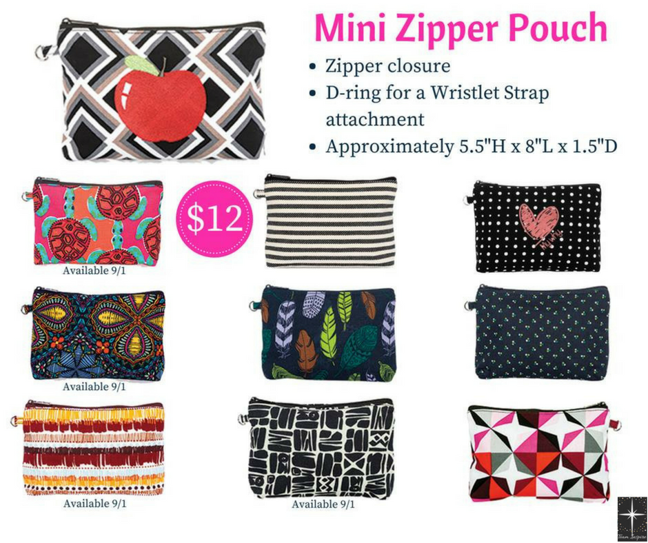 82eea92da4a9 This versatile pouch is a great way to keep smaller items safe. Makes a fun  pencil pouch for back to school! #thirty-one #thirtyone #31 #mini ...