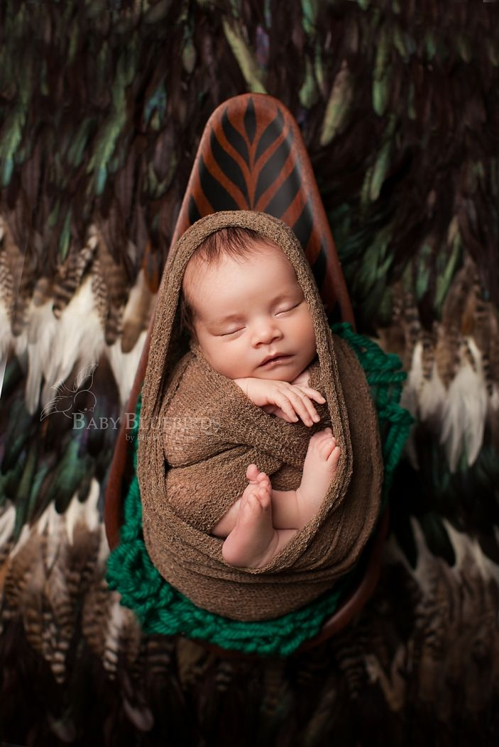It was so fun to incorporate bluebird talis dads polynesian culture utah county newborn photography utah county newborn photographer utah photographer