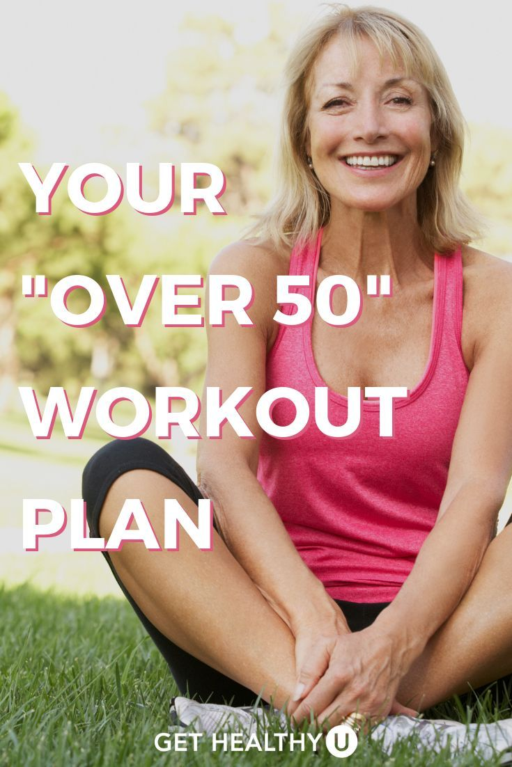 Working Out Over 50: Tips To Stay Active & Injury-Free