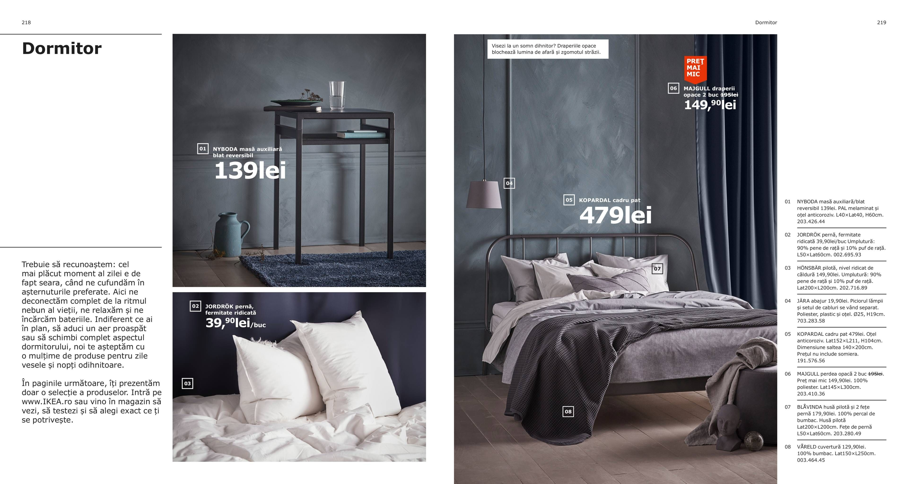 Dormitor Catalogul IKEA 2019 Ikea catalog, Ikea, Bedroom
