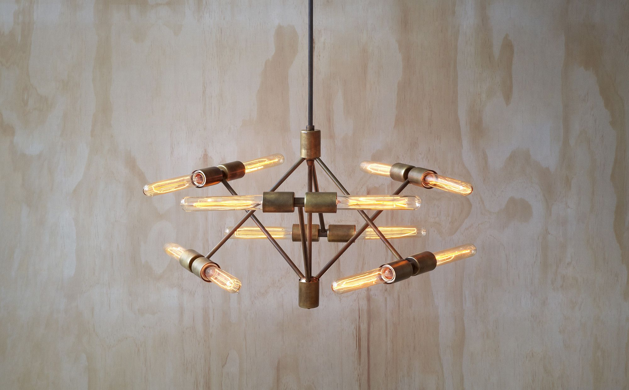 Lovely Torch from Lightmaker Studio us Mid Century Collection