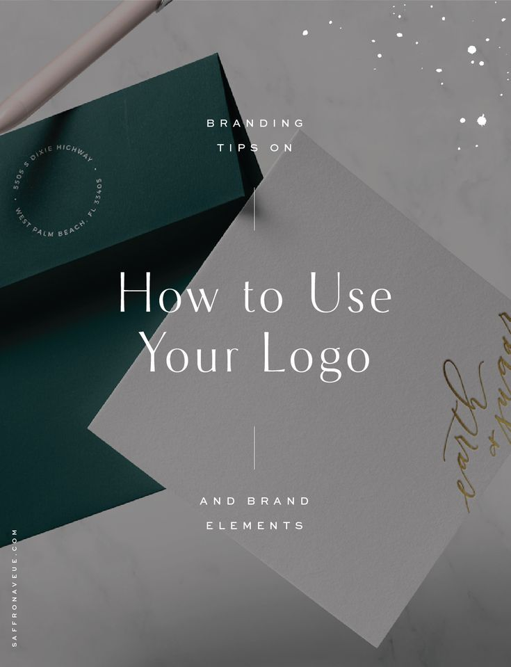 How to use your Logo and Brand Elements