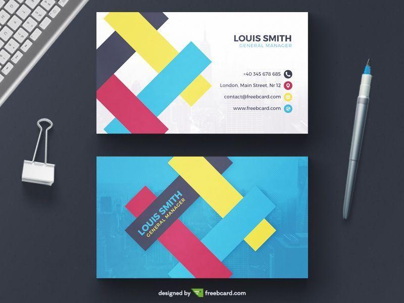 Business Card Design Ai Kostenloser Download Als Auch Als