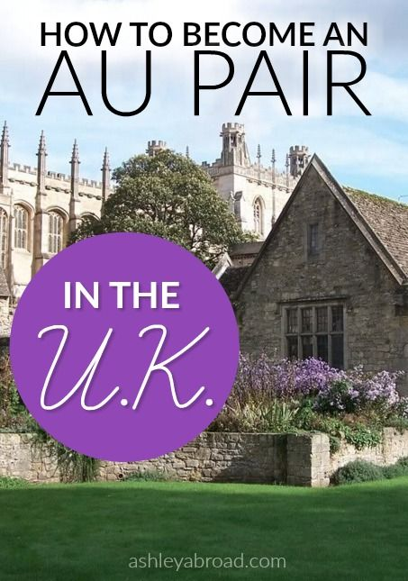 How To Become An Au Pair In The Uk A Step By Step Guide Au Pair