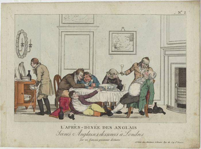 Der Einfluss der französischen Küche in England im 19. Jahrhundert