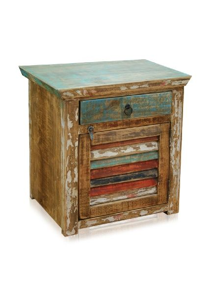 Reclaimed Wood Furniture Bombay One Drawer One Door Nightstand At Myhabit Reclaimed Wood