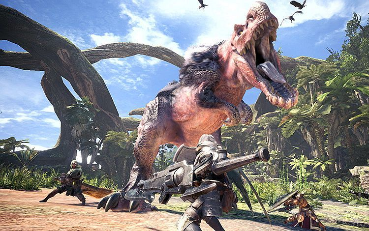 Monster Hunter World Interview We Ve Set Up Rules For How They Should Behave But We Didn T Script Monster Behaviour Monster Hunter World Monster Hunter Monster Hunter Games