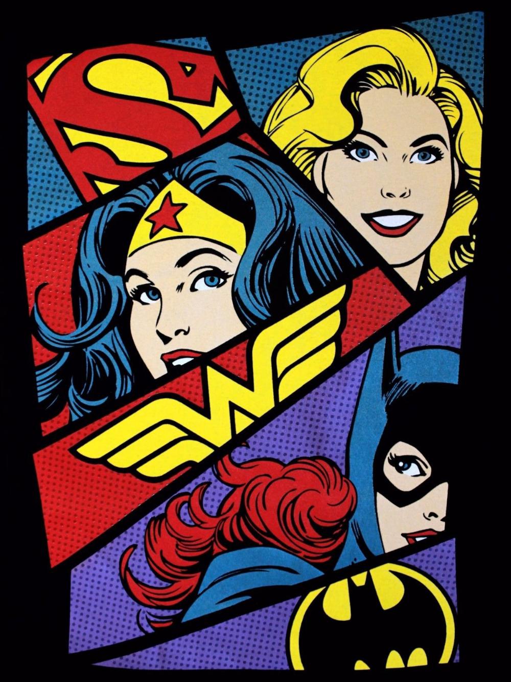 Wonder Woman Logo Supergirl Batgirl DC Comics Justice