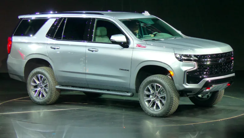Here S A Quick Look At The 2021 Chevrolet Tahoe Z71 S Off Road