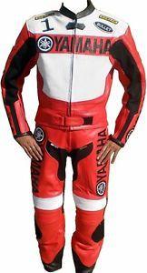 traje de cuero moto yamaha racing motociclista motocicleta chaqueta de  cuero para hombre pantalon - Categoria 6732a203f65cc
