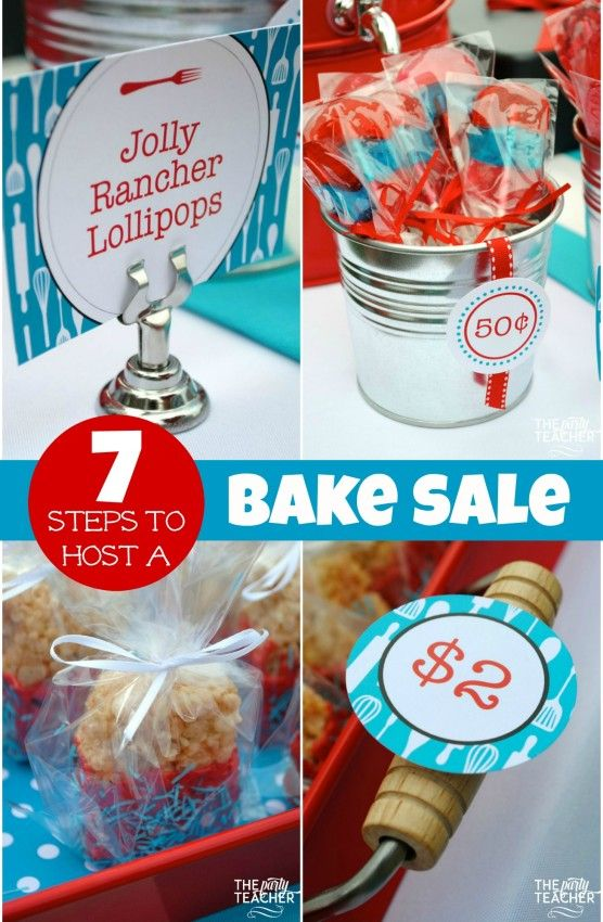 How to Plan a Bake Sale (7 Easy Steps!)