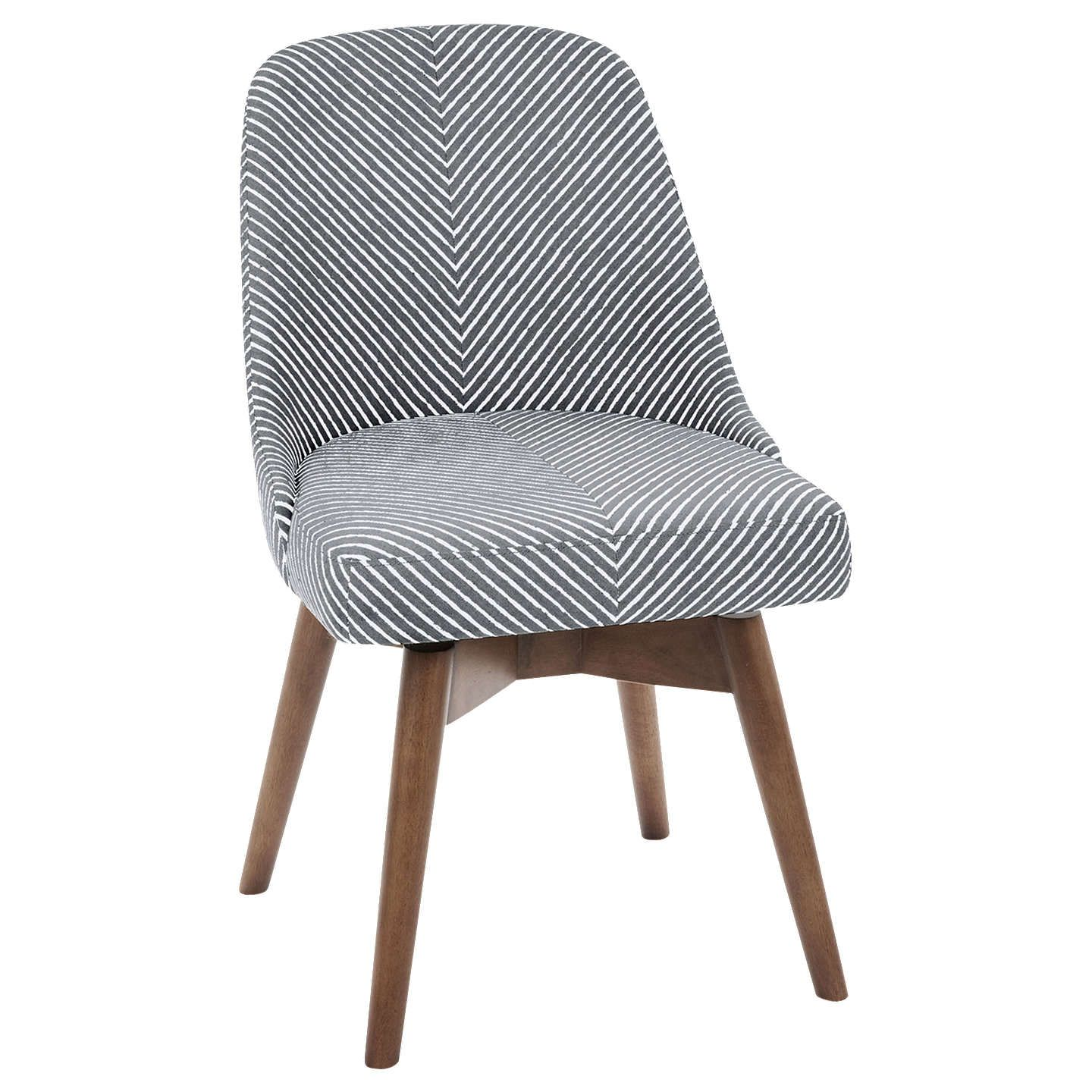 west elm Mid-Century Office Chair, Gravel Stripe in 2019