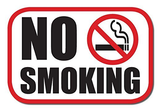 9210d4aea1a No Smoking sticker decal (6