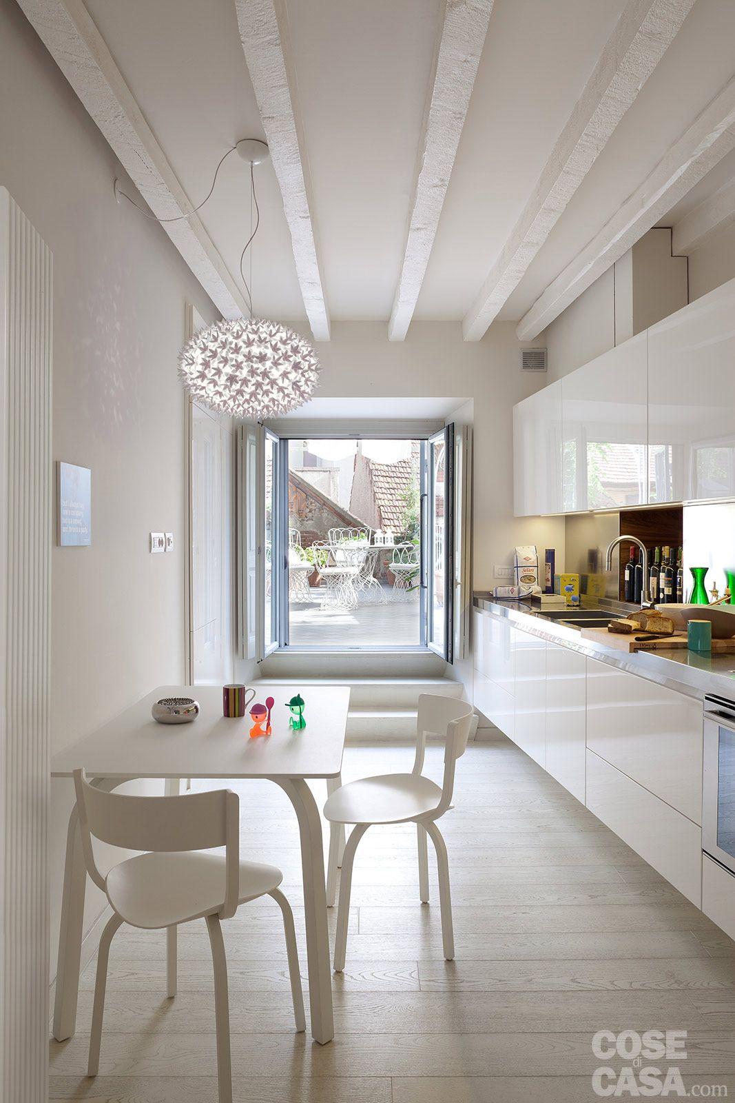 arredare una cucina rettangolare - Cerca con Google | Kitchen in ...