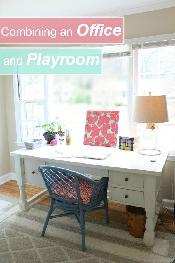 Three Steps To Combining An Office Playroom Space