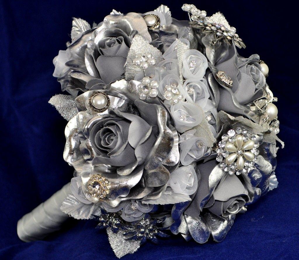 Букет невесты, букет на серебряную свадьбу купить