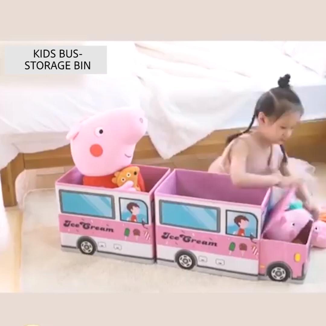 """""""Bus"""" Storage Bin"""