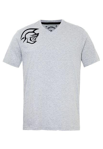 21dad4e20 Camiseta Pretorian Basic Cinza - Compre Agora