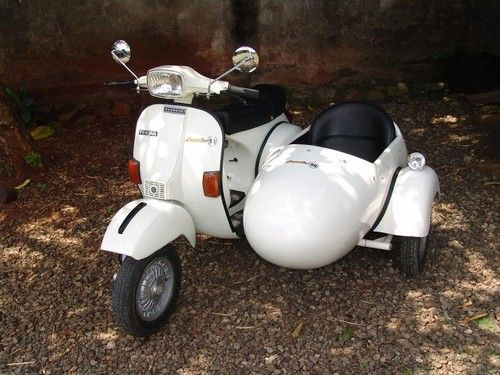 For Sale Vespa PX150 with sidecar www scooter99 com | My