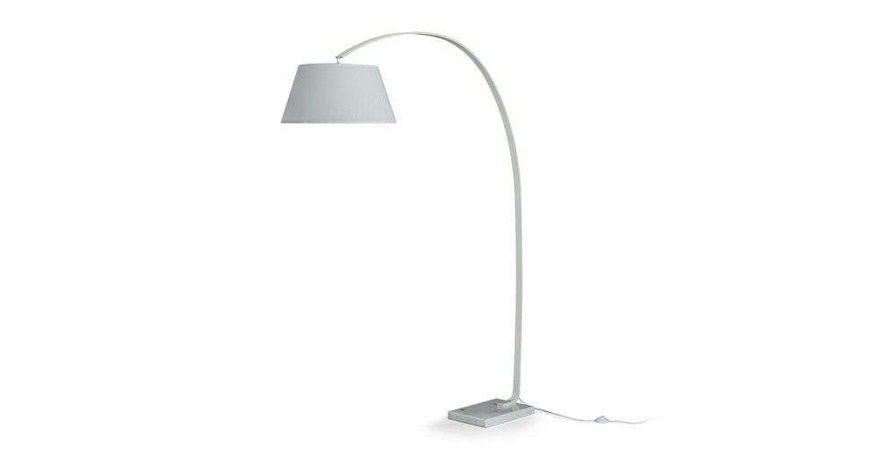 Willo White Floor Lamp In 2020 White Floor Lamp Floor Lamp