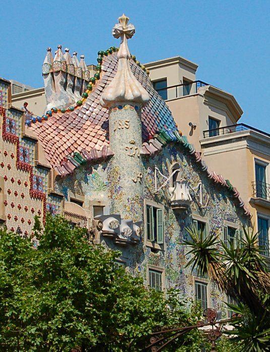casa batllo gaudi barcelona spain - Google Search