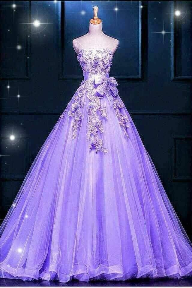Pin by Nina on Purple | Gowns, Dresses, Glamorous dresses