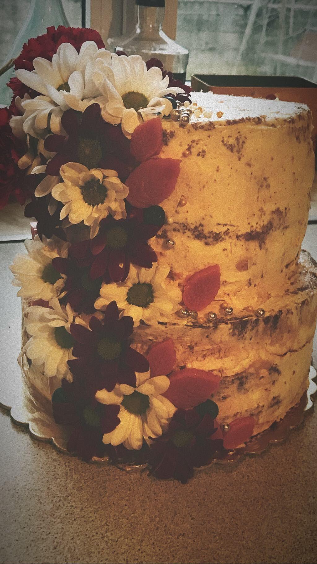 Birthdaycake Cake Urodziny Tort Zywe Kwiaty Painting Art