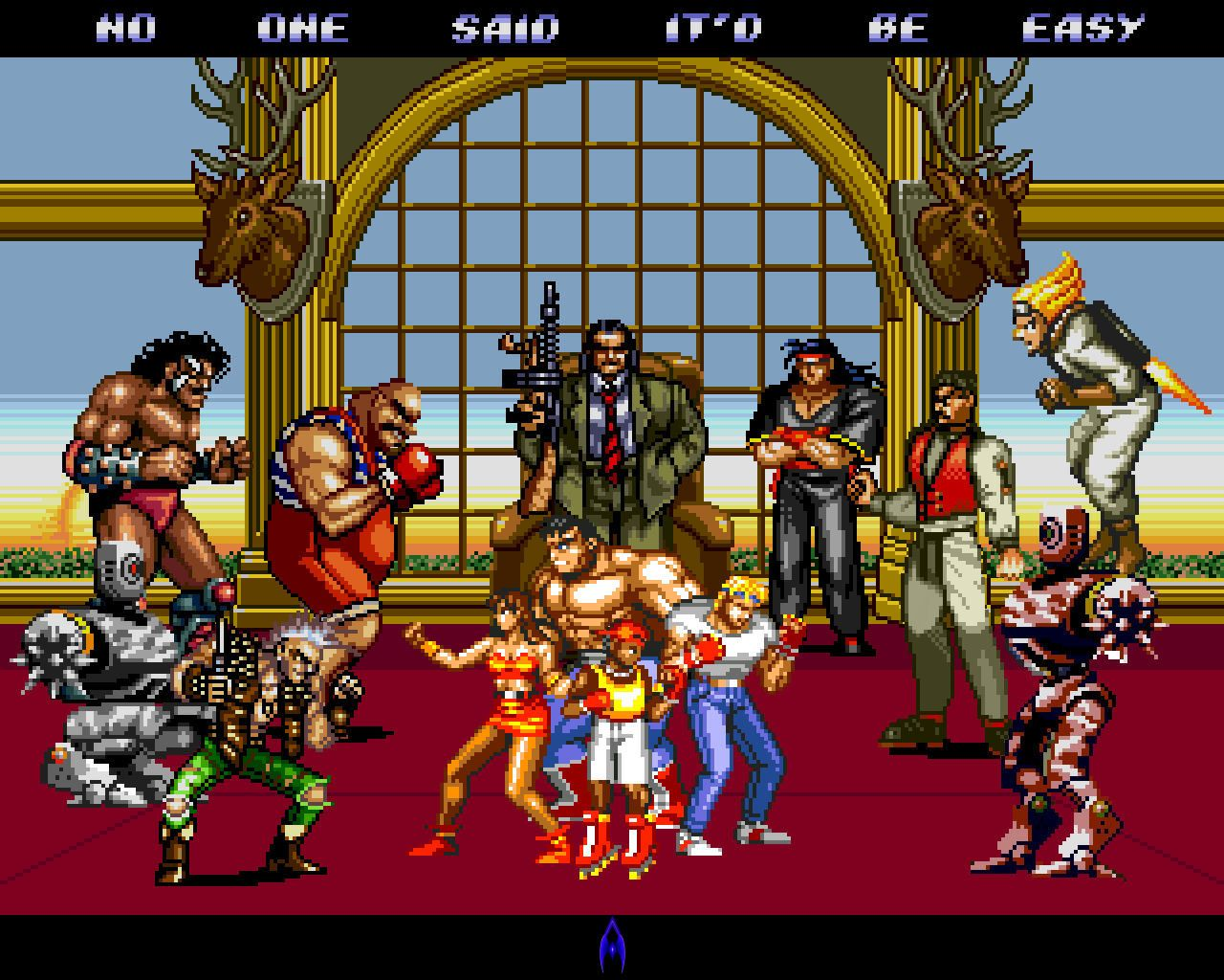 Streets Of Rage Surrounded By Theland10 On Deviantart Avec