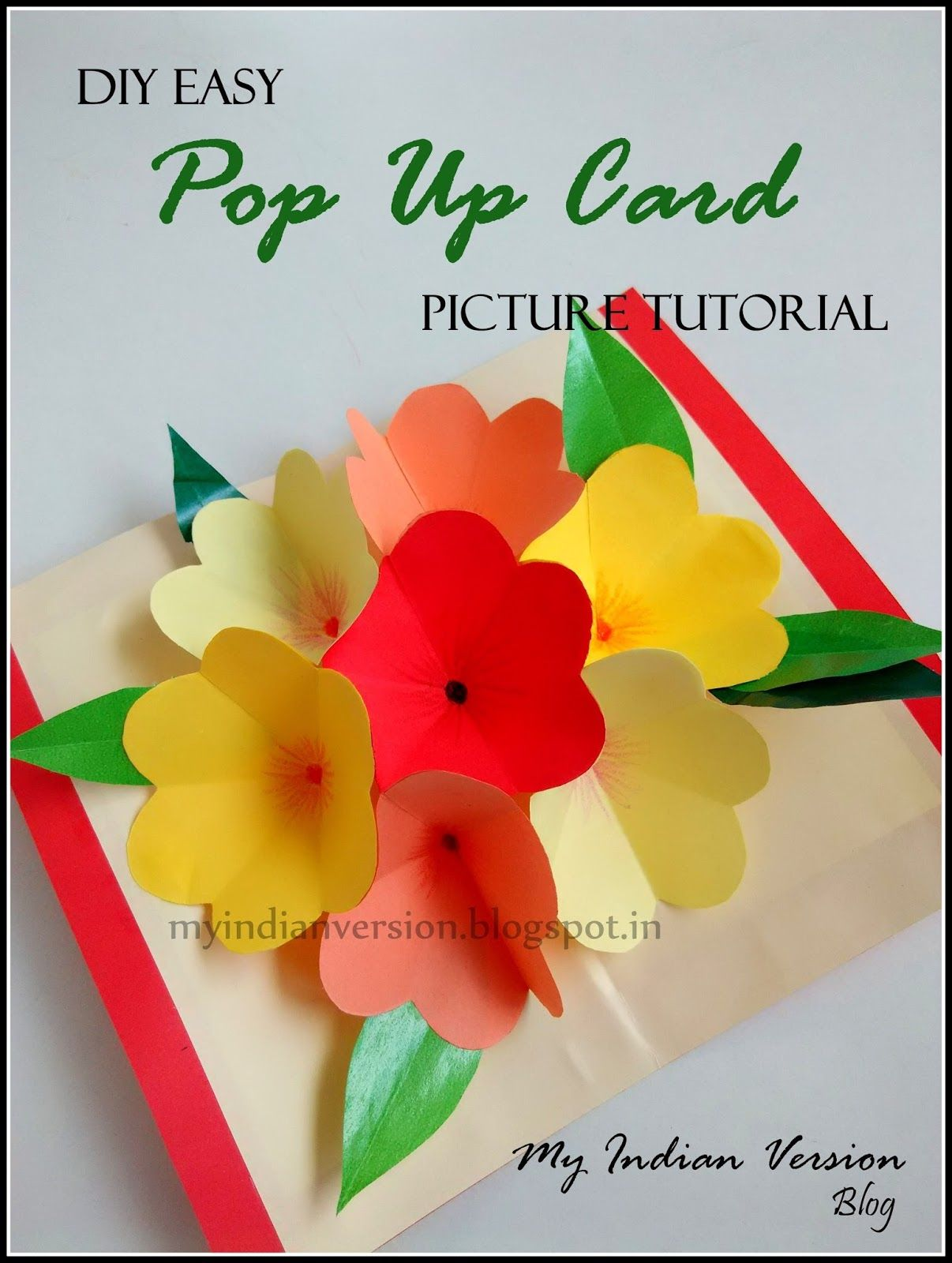 Diy easy pop up card photo tutorial tutorials cards and card diy easy pop up card photo tutorial kristyandbryce Images