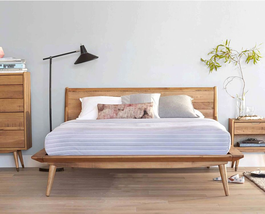 Bolig Bed Beds Scandinavian Designs Mid century