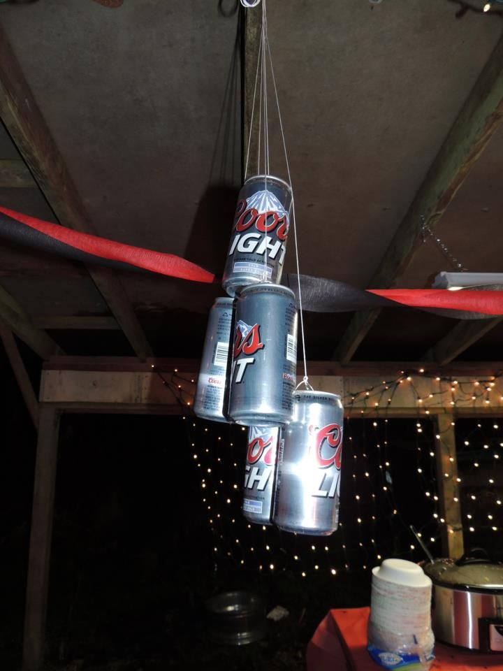 Coors light decorations   Dave's 40th Birthday   Light decorations, Gag gifts, Beverages