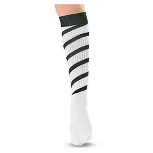Tall Candy Stripe Socks by Cheerleading Company