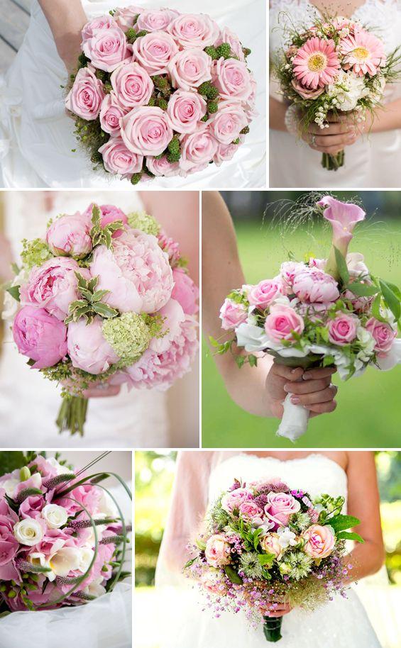 Prinzessinnen Brautstrauss In Rosa Oder Pink Wedding And Weddings