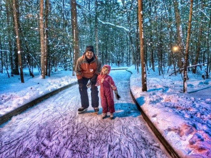 Muskegon Winter Sports complex has cross country skiing