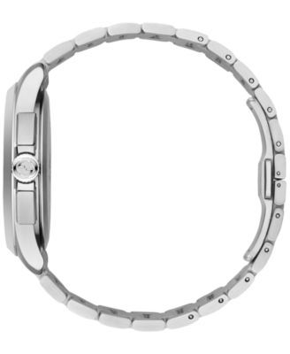 ebef924efc3 Gucci Men s Swiss Chronograph G-Timeless Stainless Steel Bracelet Watch  44mm YA126267