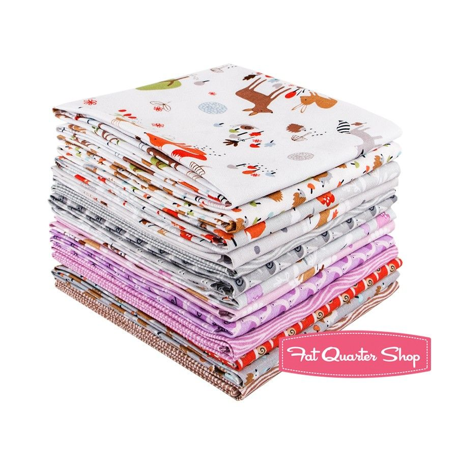 Gentle Forest Fat Quarter Bundle<BR>Tea and Sympathy for Studio E Fabrics