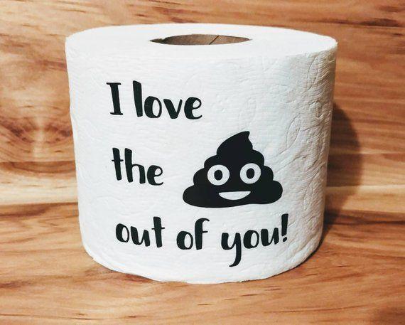 Gag Gift For Him Birthday Prank Valentines Day Valentine Bathroom Deco