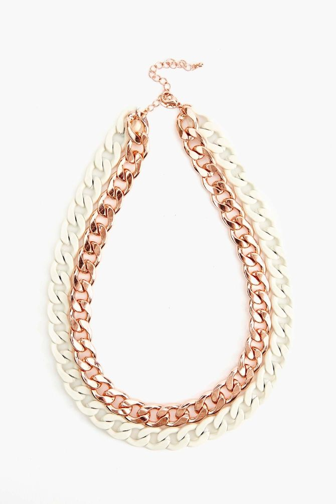 Hot Metal Collar Necklace