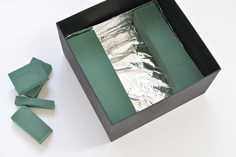 Photo of DIY flower gift box