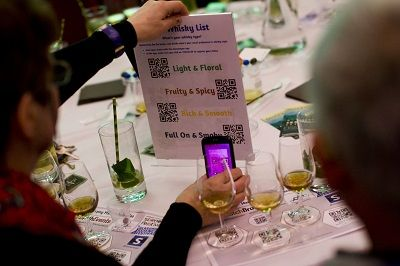 event app Showmappr - What's your whisky style?