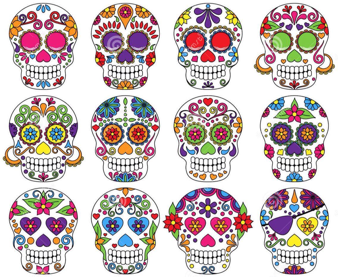 40 Coole Fuß Tattoo Vorlagen | Sugar skulls, Sugaring and Tattoo