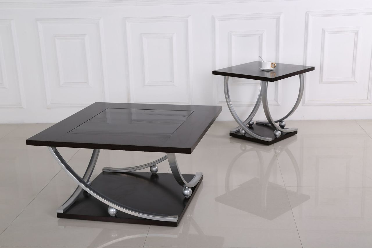 Generation Trade 3 Pc Chelsea Black Coffee End Table Set End
