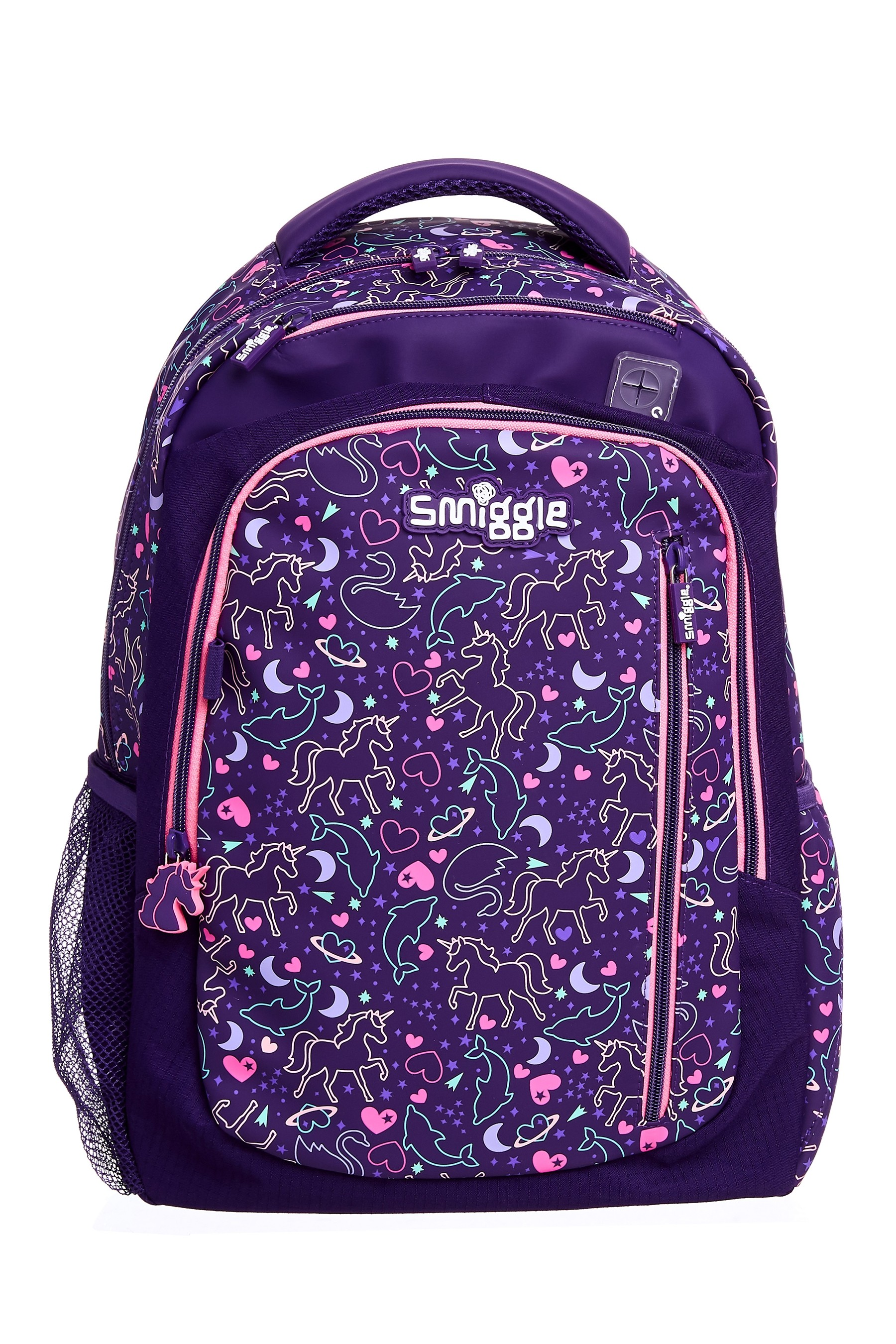 ❤ Girls SMIGGLE Lilac Fave Backpack School Bag Rucksack NEW RARE book