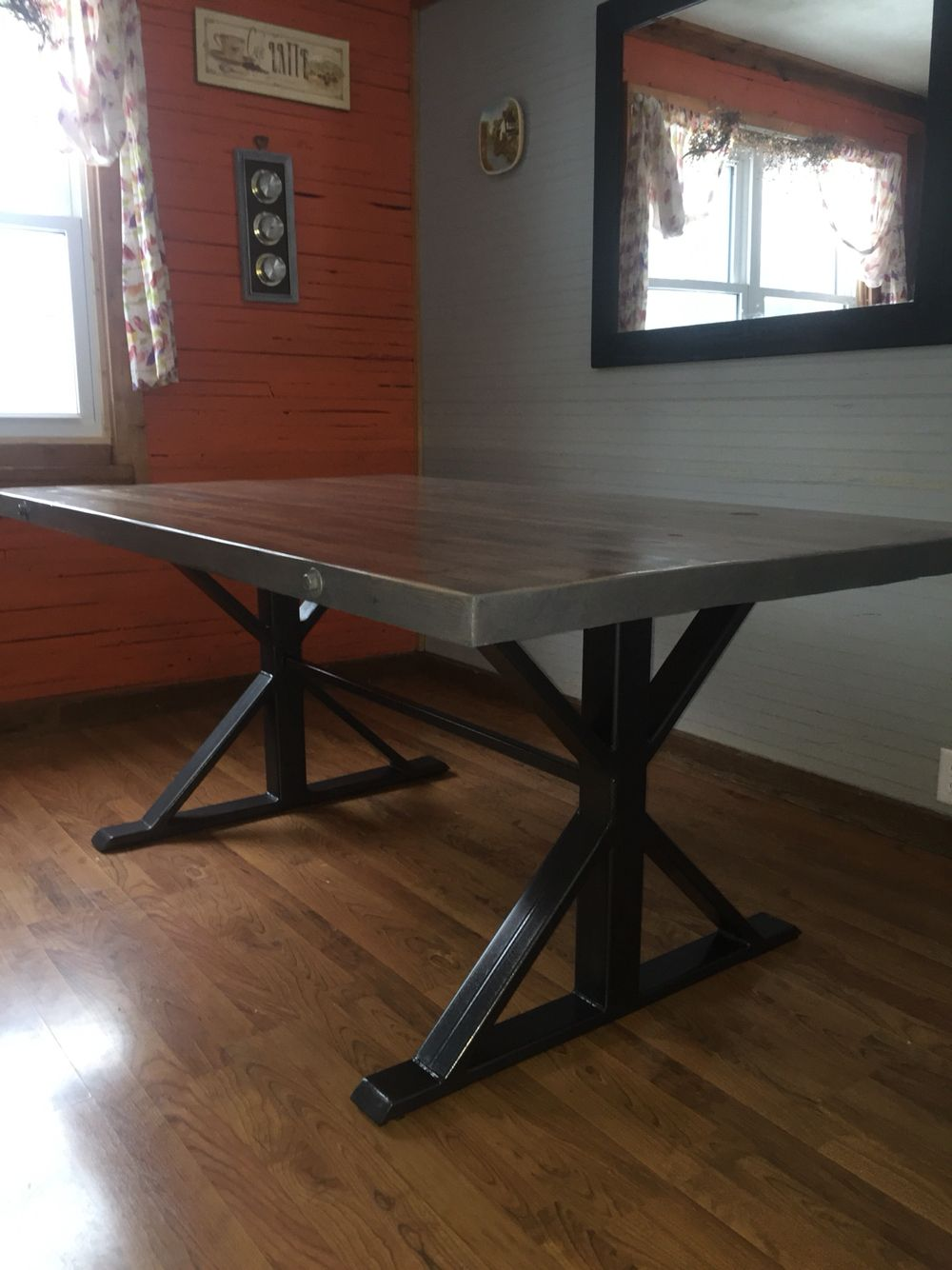 kitchen table with metal base cafe interior design cafe interior welding projects on kitchen interior table id=23935