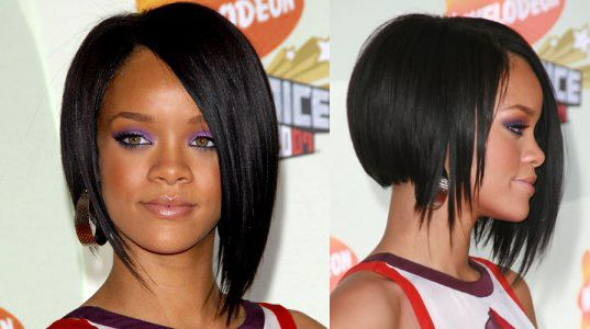Chinese Bob Rihanna Hairstyles Oval Face Hairstyles Hair Styles