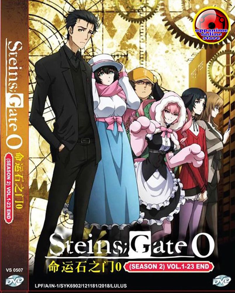 Steinsgate 0 season 2 vol 1 23 end anime dvd english version