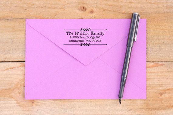 Return Address Self-Inking Stamp Address Stamp by TheStampCompany
