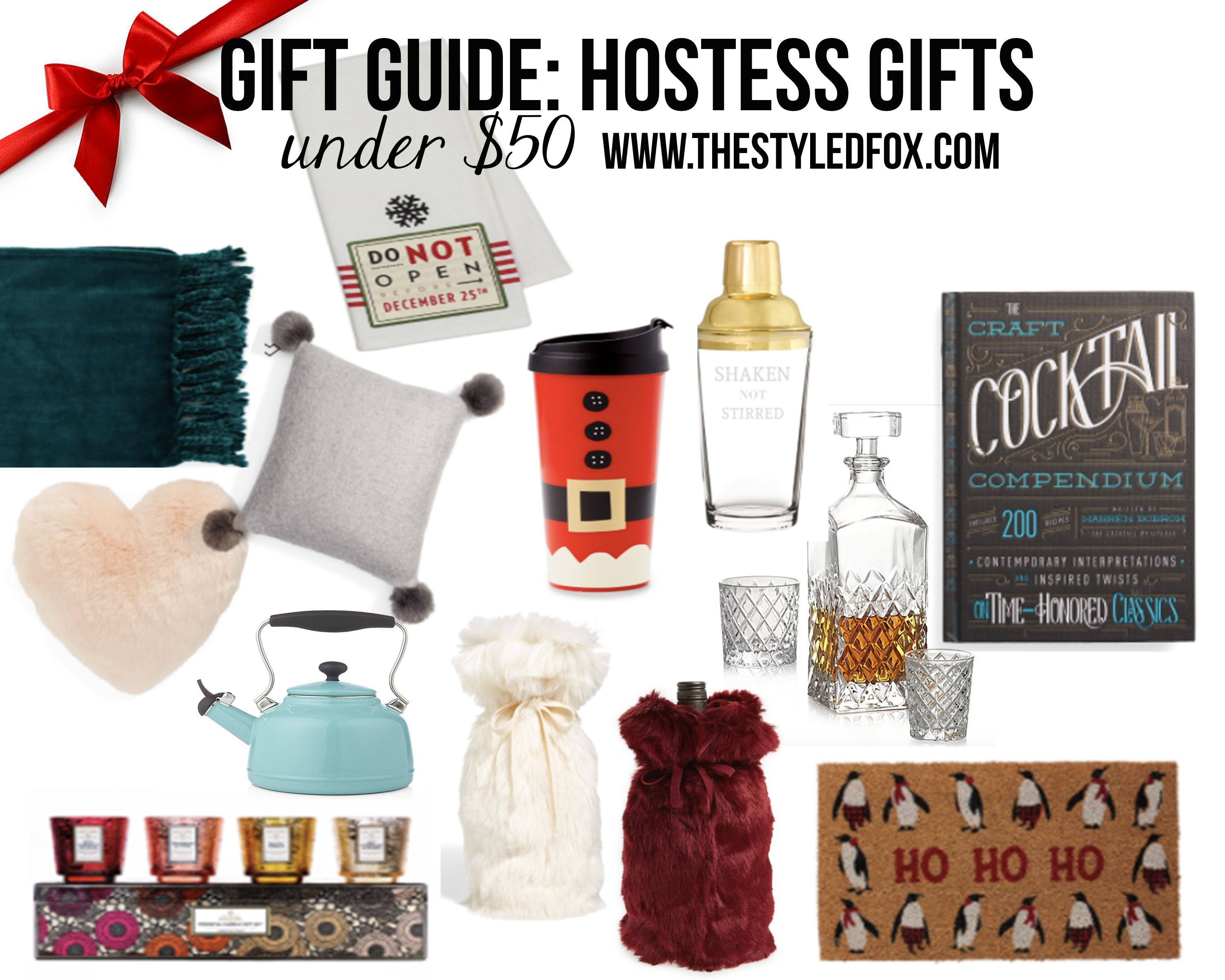 gifts for the hostess houston fashion blog the styled fox