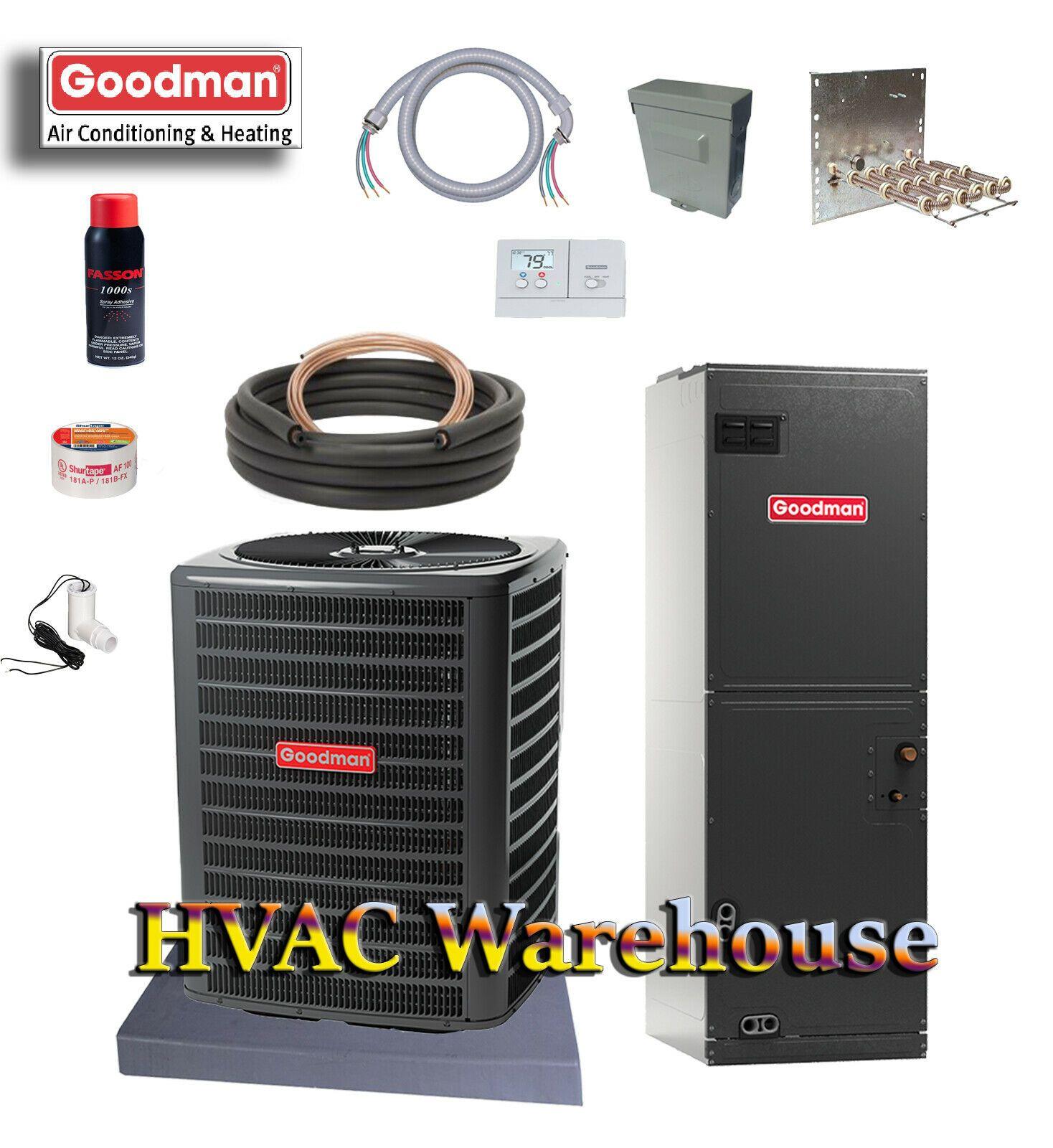 3 Ton Heat Pump Split System in 2020 Heat pump, Heat